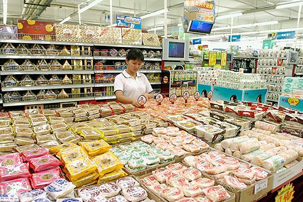 [图文]中秋月饼销售起步 散装月饼唱主角图片